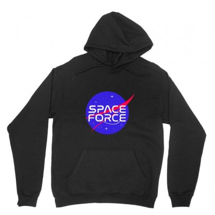 Space Force Unisex Hoodie Designed By Pinkanzee