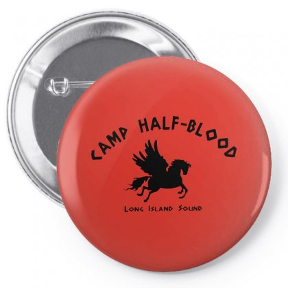 Half Blood Pin-back Button Designed By Peri