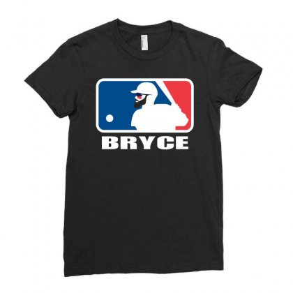 Bryce Ladies Fitted T-shirt Designed By Pinkanzee