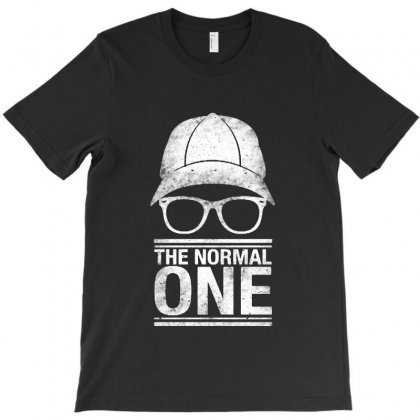 The Normal One   White Vintage T-shirt Designed By Pinkanzee