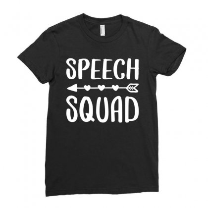 Speech Squad T Shirt Pathology Speech Therapy Gift Shirt T Shirt Ladies Fitted T-shirt Designed By Nhan