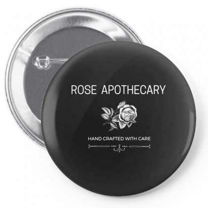 Rose Apothecary Logo Pin-back Button Designed By Peri