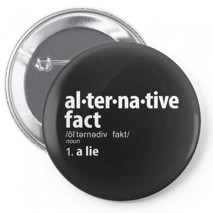 Alternative Fact Definitions Pin-back Button Designed By Disgus_thing