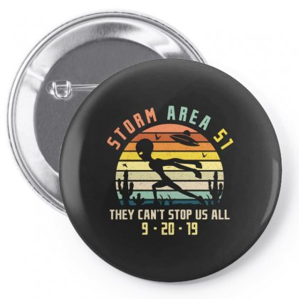 Storm Area Merch Pin-back Button Designed By Peri