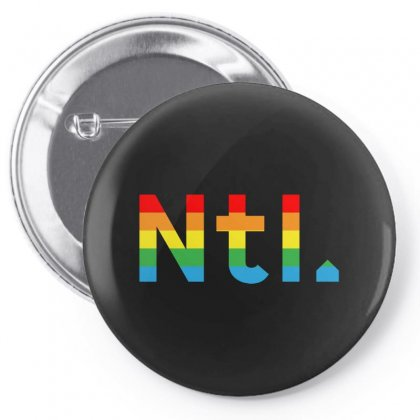 The National Band Pin-back Button Designed By Peri