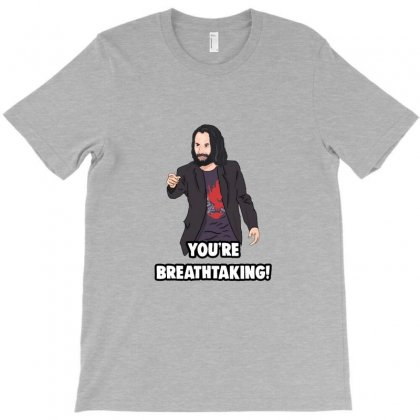 You Are Breathtaking Keanu Reeves T-shirt Designed By Peri