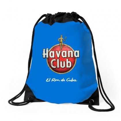 Havana Club Label Drawstring Bags Designed By Ahmadjufriyanto