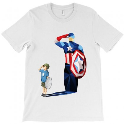 Ok  Captain T-shirt Designed By Pinkanzee