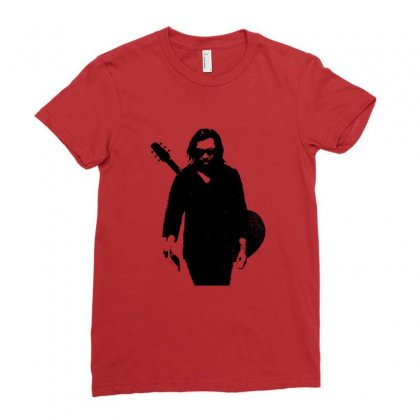 Sixto Rodriguez  Sugar Man Ladies Fitted T-shirt Designed By Ahmadjufriyanto