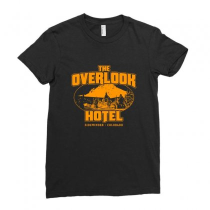The Overlook Hotel Merch Ladies Fitted T-shirt Designed By Ahmadjufriyanto