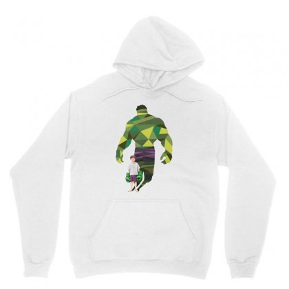The Green Power Unisex Hoodie Designed By Pinkanzee