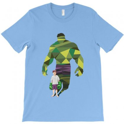 The Green Power T-shirt Designed By Pinkanzee