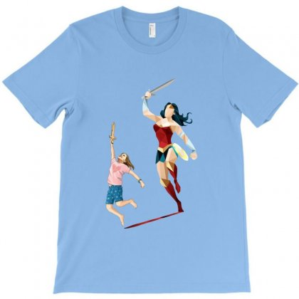 The Girl Power T-shirt Designed By Pinkanzee
