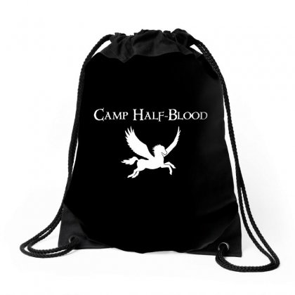Camp Half Blood Drawstring Bags Designed By Ahmadjufriyanto