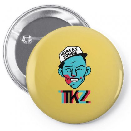 Korean Zombie Pin-back Button Designed By Ahmadjufriyanto