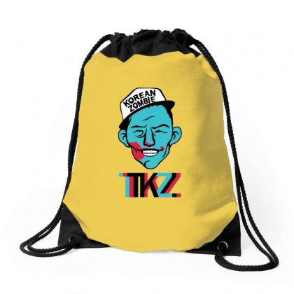 Korean Zombie Drawstring Bags Designed By Ahmadjufriyanto