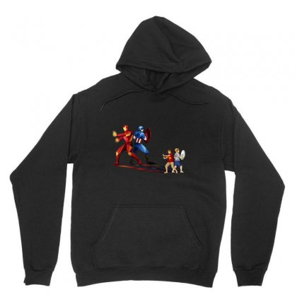 Brothers In Arms Unisex Hoodie Designed By Pinkanzee