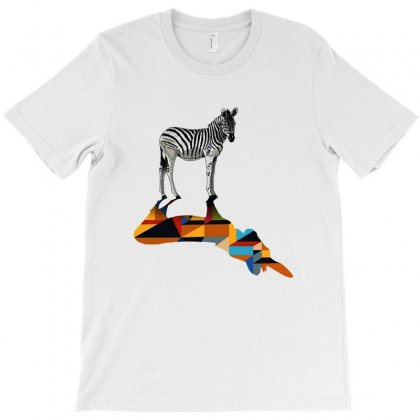 Awesome Zebra T-shirt Designed By Pinkanzee
