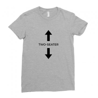 Two Seater Ladies Fitted T-shirt Designed By Ahmadjufriyanto