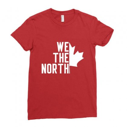 We The North Ladies Fitted T-shirt Designed By Ahmadjufriyanto