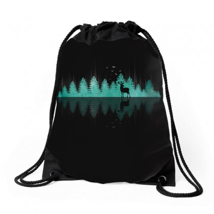 Nature Beats Drawstring Bags Designed By Toweroflandrose
