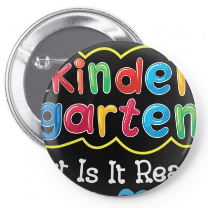Kids First Day Of Kindergarten Shirt Back To School Gift Pin-back Button Designed By Nhan