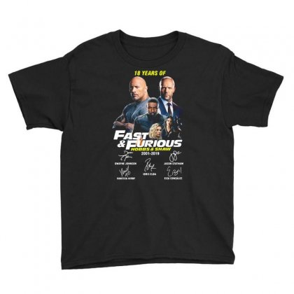 Hobbs And Shaw Youth Tee Designed By Kakashop