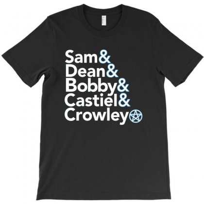 Sam Supernatural T-shirt Designed By Disgus_thing