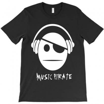 Music Pirate T-shirt Designed By Ewanhunt