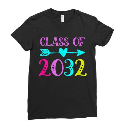 Class Of 2032 Ladies Fitted T-shirt Designed By Anrora
