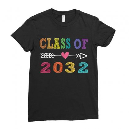 Class Of 2032n Ladies Fitted T-shirt Designed By Anrora