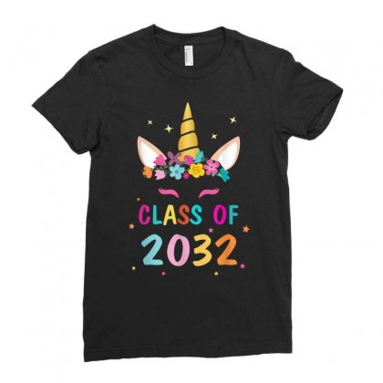 Class Of 2032m Ladies Fitted T-shirt Designed By Anrora