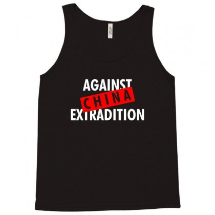 Against China Extradition For Dark Tank Top Designed By Ofutlu