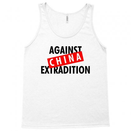 Against China Extradition For Light Tank Top Designed By Ofutlu
