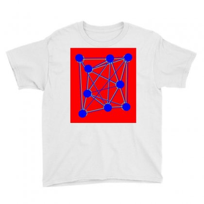 Spider Atomic Structure Youth Tee Designed By Kayanphoto