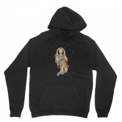 in space no one can hear you scream Unisex Hoodie | Artistshot
