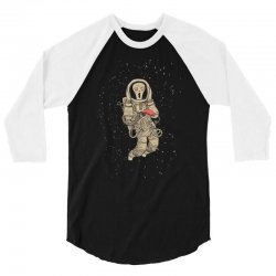 in space no one can hear you scream 3/4 Sleeve Shirt | Artistshot