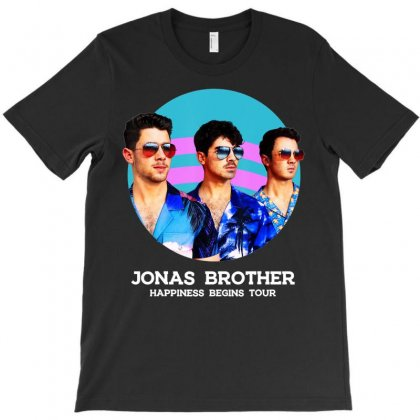 Jonas Brother Happiness Begins Tour T Shirt T-shirt Designed By Nhan