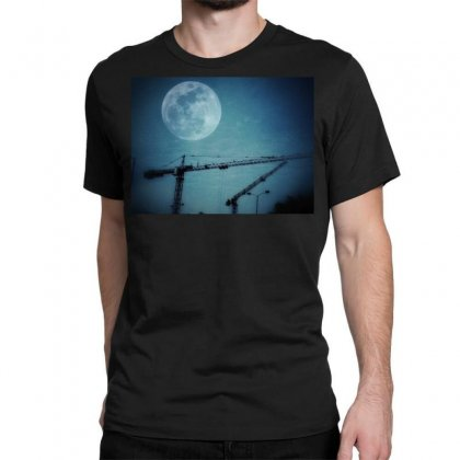Capture The Moon Classic T-shirt Designed By Shekoz
