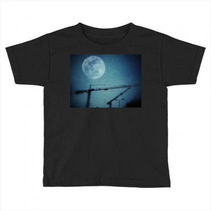 Capture The Moon Toddler T-shirt Designed By Shekoz