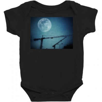 Capture The Moon Baby Bodysuit Designed By Shekoz