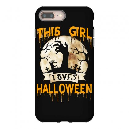 Halloween Costume This Girl Loves Halloween Iphone 8 Plus Case Designed By Twinklered.com