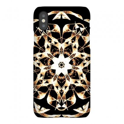 Modern Glowing Floral Design Iphonex Case Designed By Dcro12