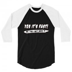 yes it is fast 3/4 Sleeve Shirt | Artistshot