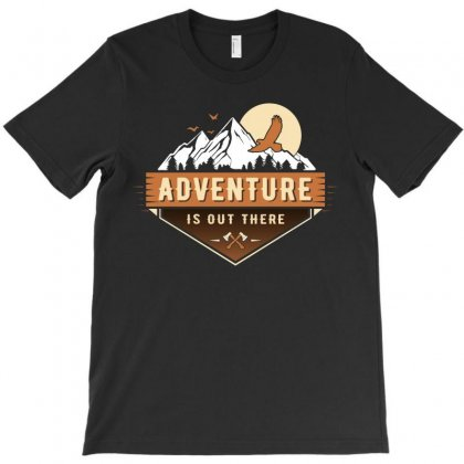 Adventure Is Out There T-shirt Designed By Toweroflandrose