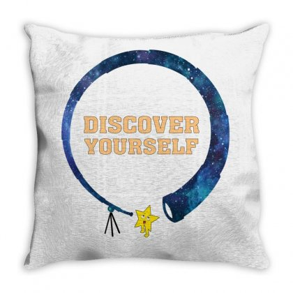 Discover Yourself Throw Pillow Designed By Gurkan