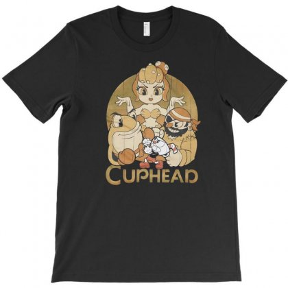 Cuphead T-shirt Designed By Disgus_thing