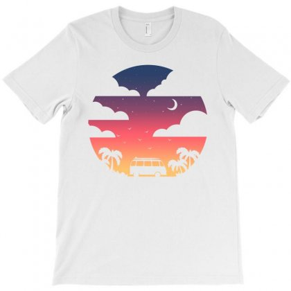 Cloudy T-shirt Designed By Toweroflandrose
