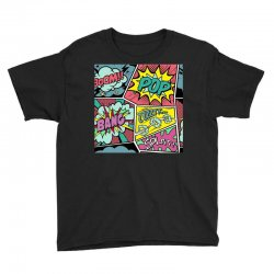 comic book vibes Youth Tee | Artistshot