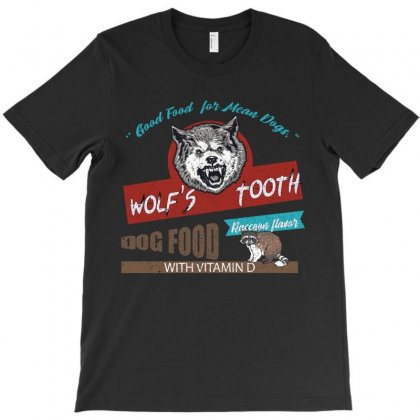 Good Food For Mean Dogs T-shirt Designed By Omer Acar